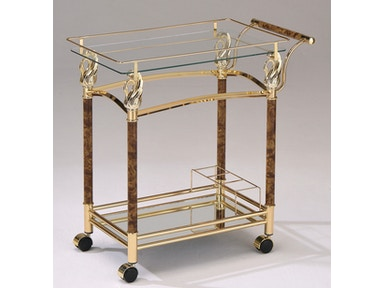 Acme Furniture Helmut Serving Cart 98002
