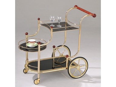Acme Furniture Lacy Serving Cart 98006