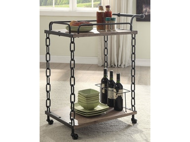 Acme Furniture Jodie Serving Cart 98172