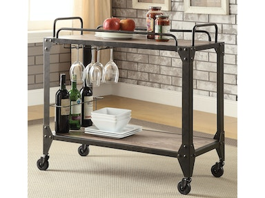Acme Furniture Caitlin Serving Cart 98174