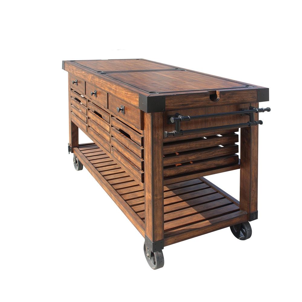... Acme Furniture Kaif Kitchen Cart 98184 ...