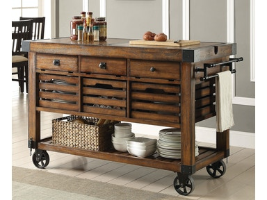 Acme Furniture Kaif Kitchen Cart 98184