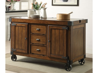 Acme Furniture Kabili Kitchen Cart 98186