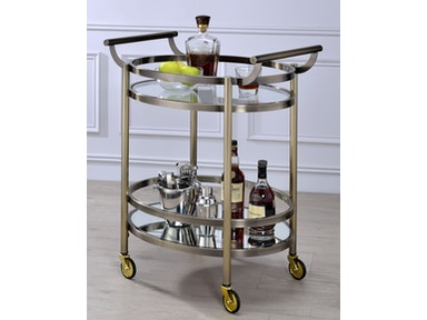 Acme Furniture Lakelyn Serving Cart 98190