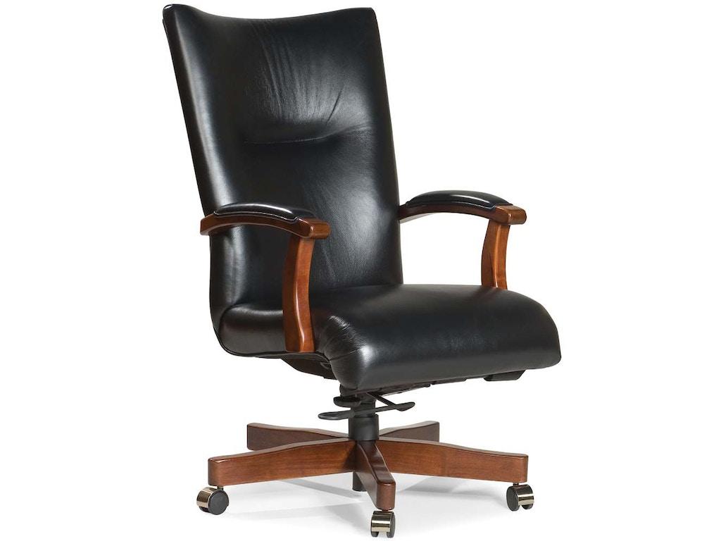 Fairfield chair company home office eaton executive swivel for Furniture 35