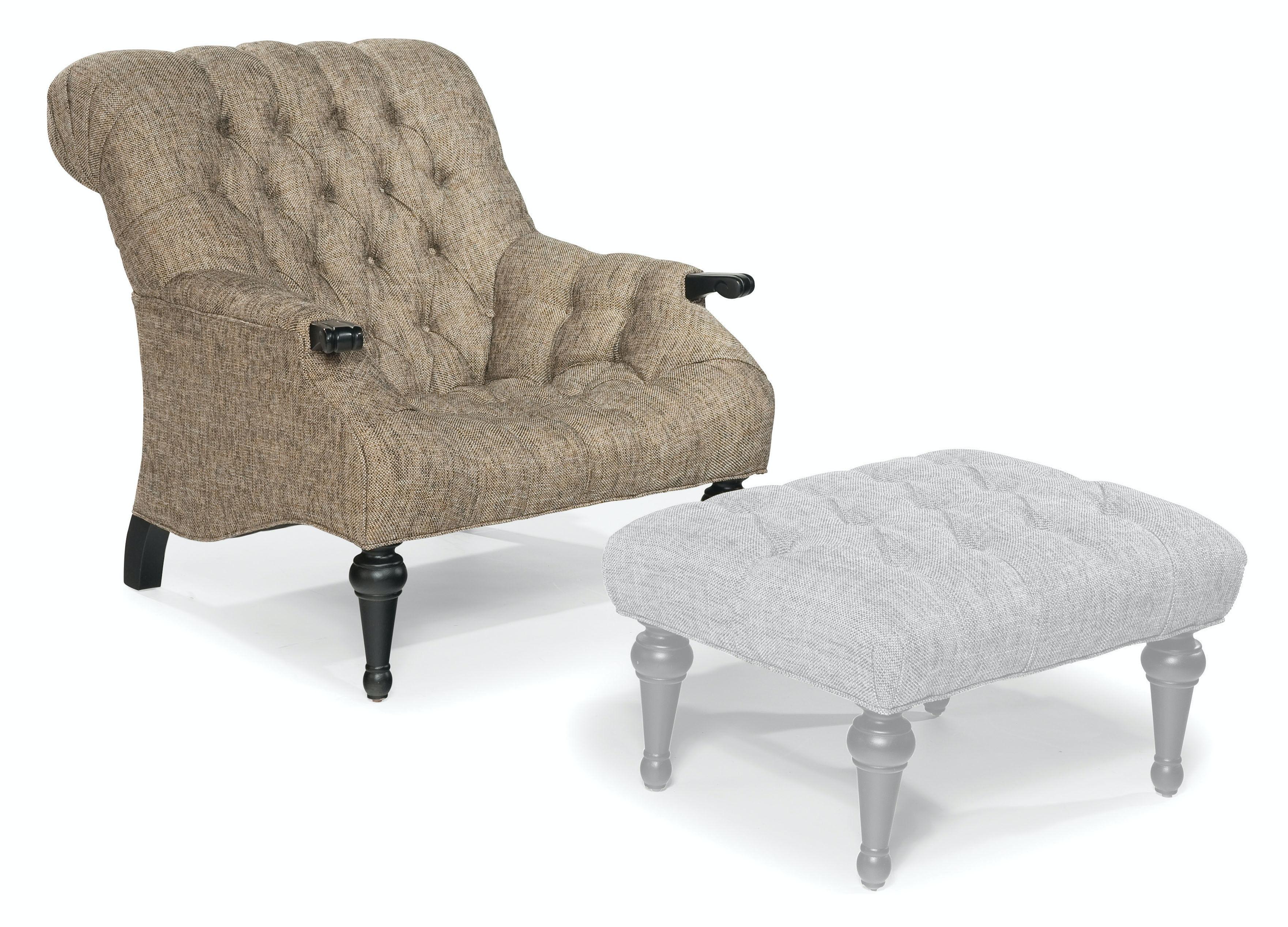 Attirant Fairfield Chair Company Living Room Sinclair Lounge Chair 1492 01 At D  Noblin Furniture