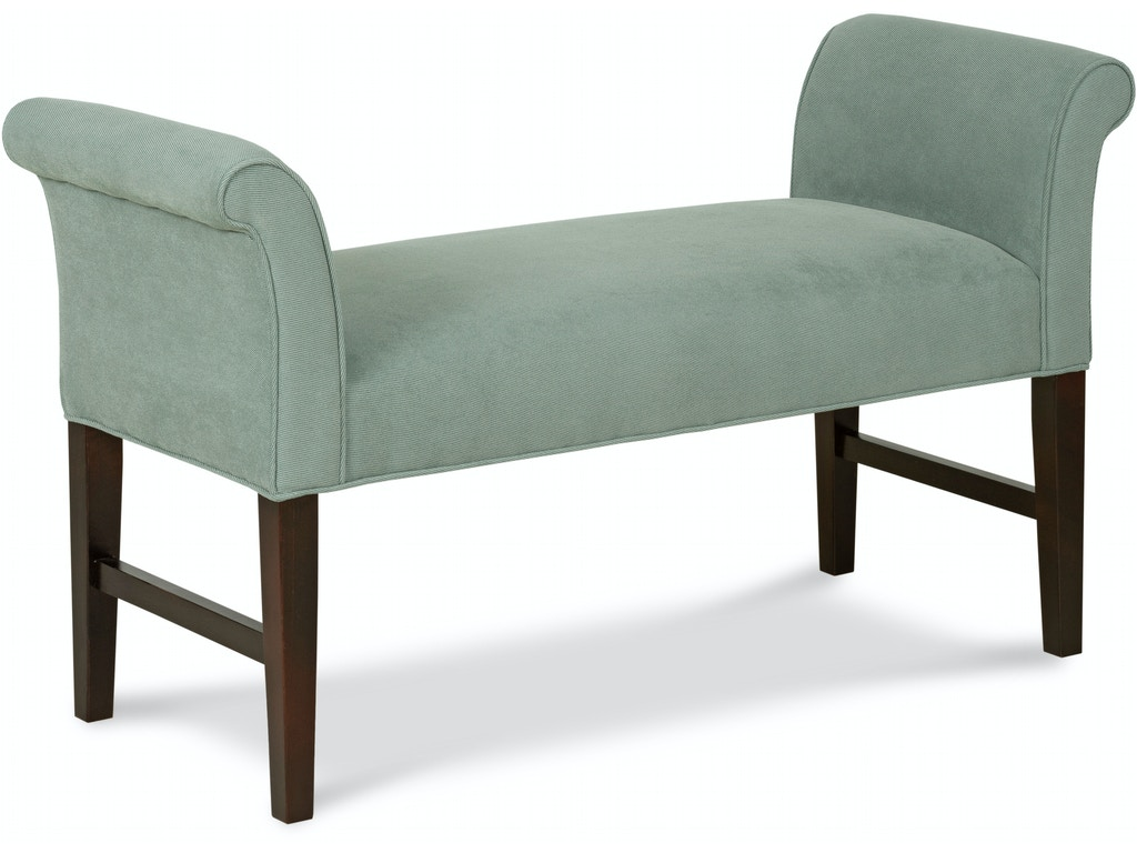 Fairfield Chair Company Living Room Garfield Bench 1704 10 Hickory Furniture Mart Hickory Nc