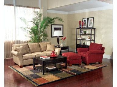 Fairfield Chair Company Living Room Franklin Sofa 3718 50