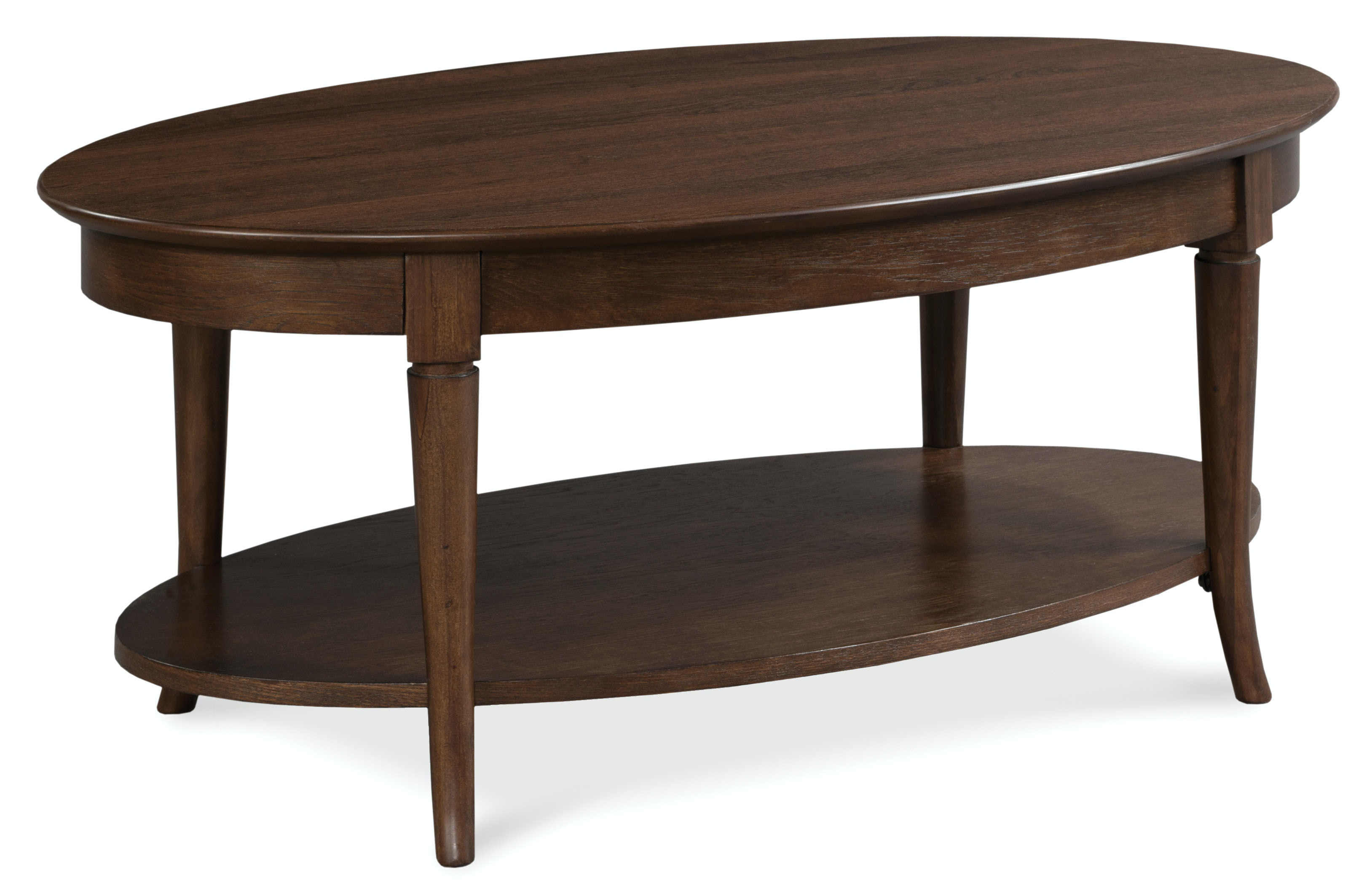 Fairfield Chair Company Living Room Oval Cocktail Table ...