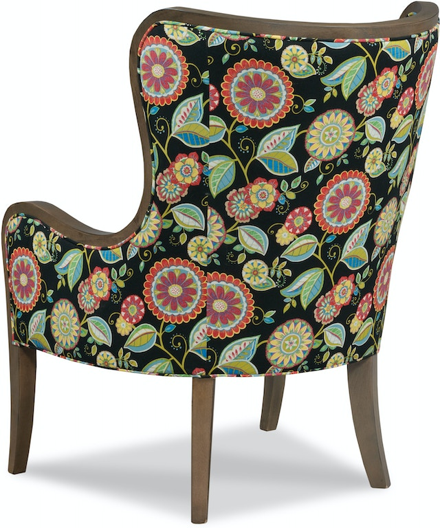 Fairfield Chair Company Living Room Downey Wing Chair 5158-01 ...