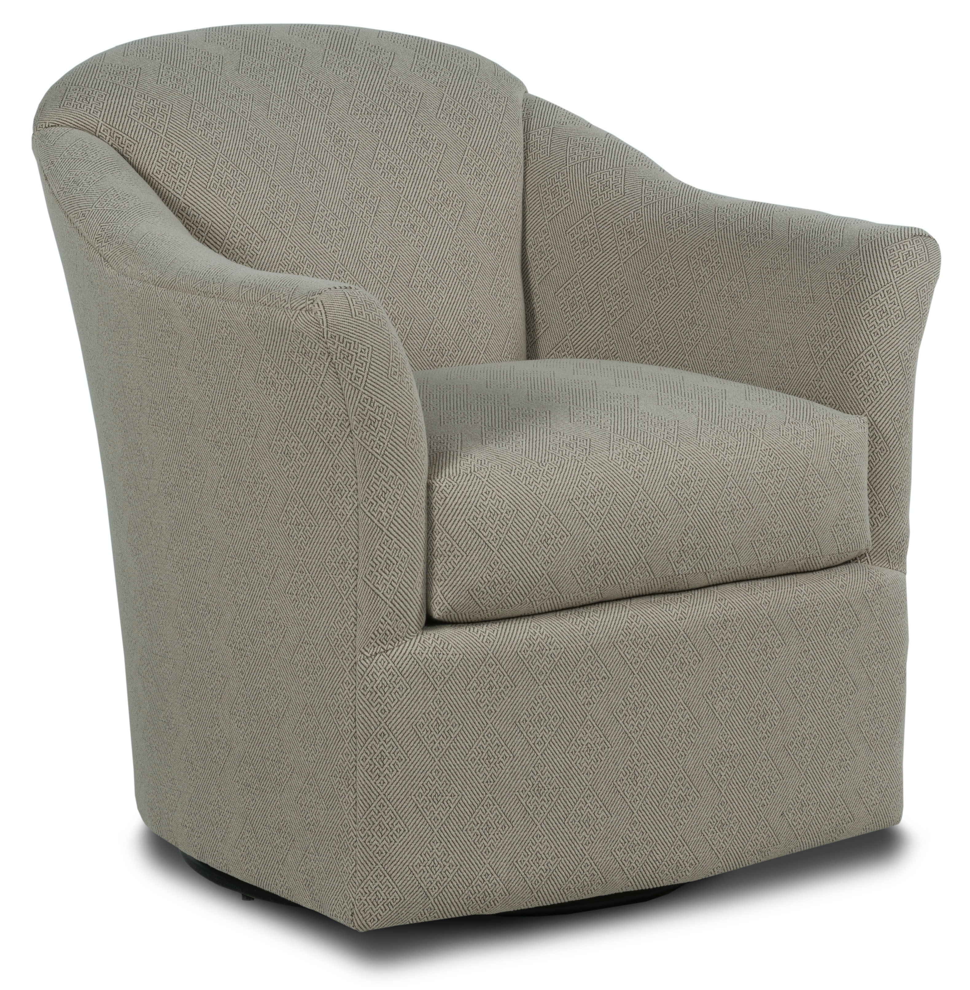 Fairfield Chair Company Living Room Barry Swivel Glider
