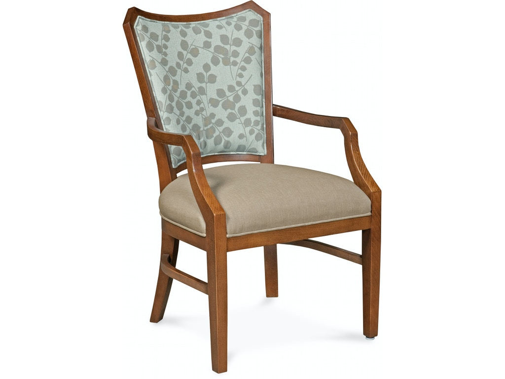 Fairfield Chair Company Dining Room Wallace Arm Chair 8718 04 Bostic Sugg Furniture