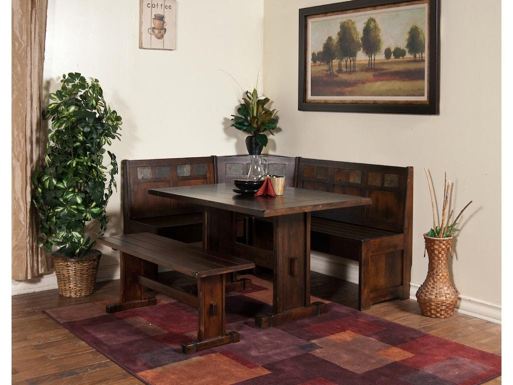 Kitchen Nook Table Sunny Designs Dining Room Santa Fe Breakfast Nook 0230dc Als