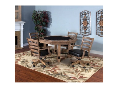 Sunny Designs Puebla Game And Dining Table 1006DW