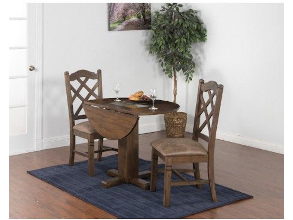 Sunny Designs Dining Room Savannah Drop Leaf Table 1223AC ...