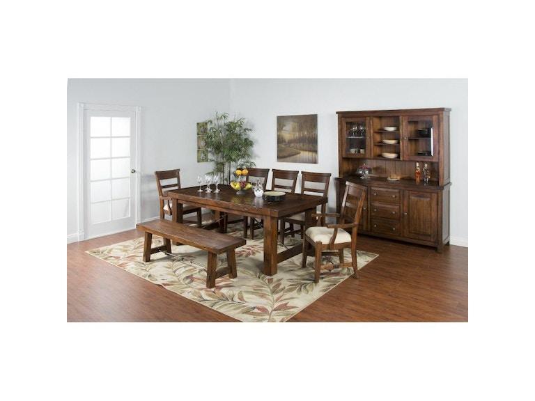 Sunny Designs Dining Room Tuscany Extension Table 1316vm