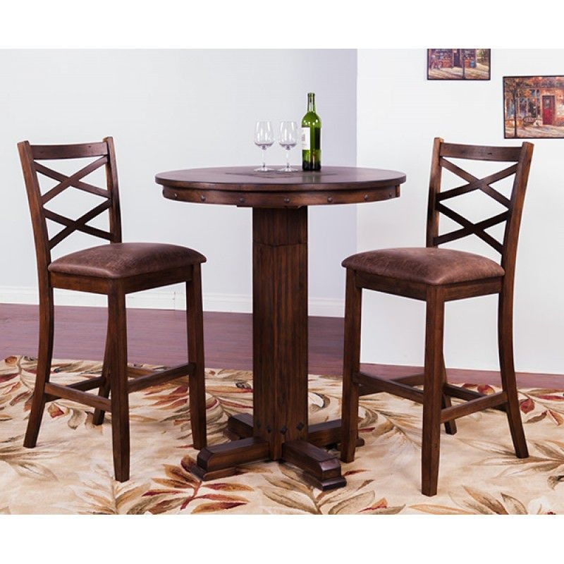 Sunny Designs Bar And Game Room Savannah Pub Table With Adj. Height