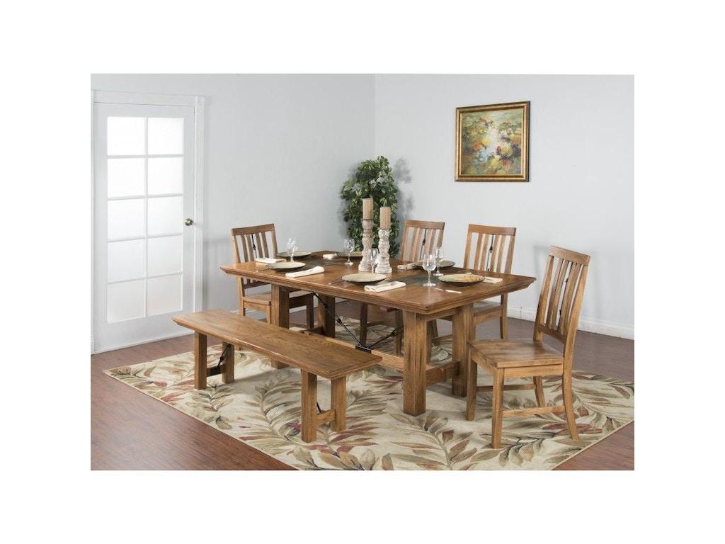 Sunny Designs Dining Room Sedona Dining Table 1356ro Simply Discount Furniture Santa Clarita