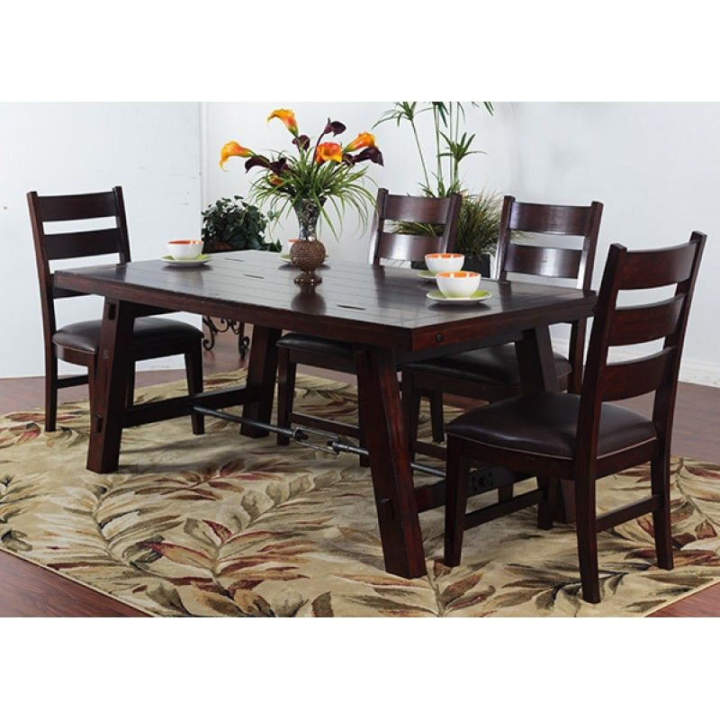 Sunny Designs Dining Room Vineyard Rectangular Table  : 1367rm1509rm 800x800 from www.seasidefurniture.com size 1024 x 768 jpeg 63kB
