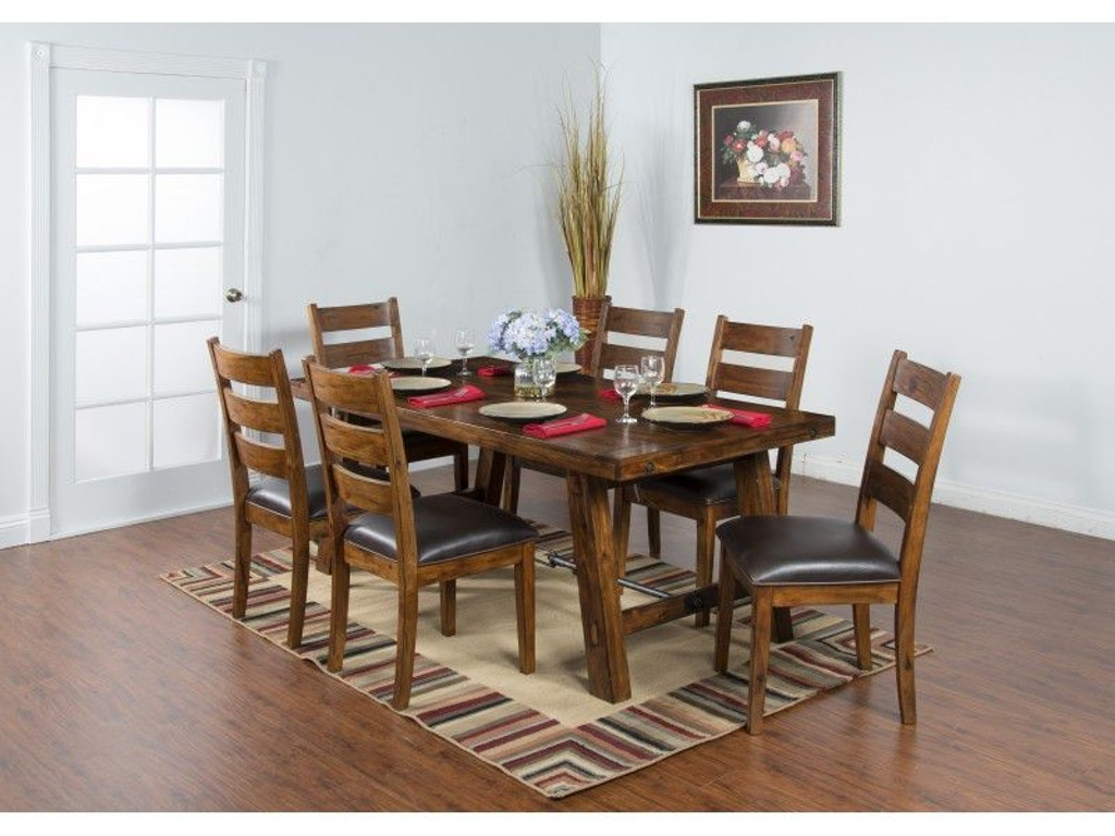 Sunny designs dining room tuscany dining table 1367vm china towne furniture solvay ny - Tuscany dining room furniture ideas ...