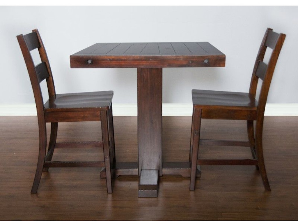 Sunny Designs Dining Room Vineyard Pub Table 1377rm Seaside Furniture Toms River Brick And