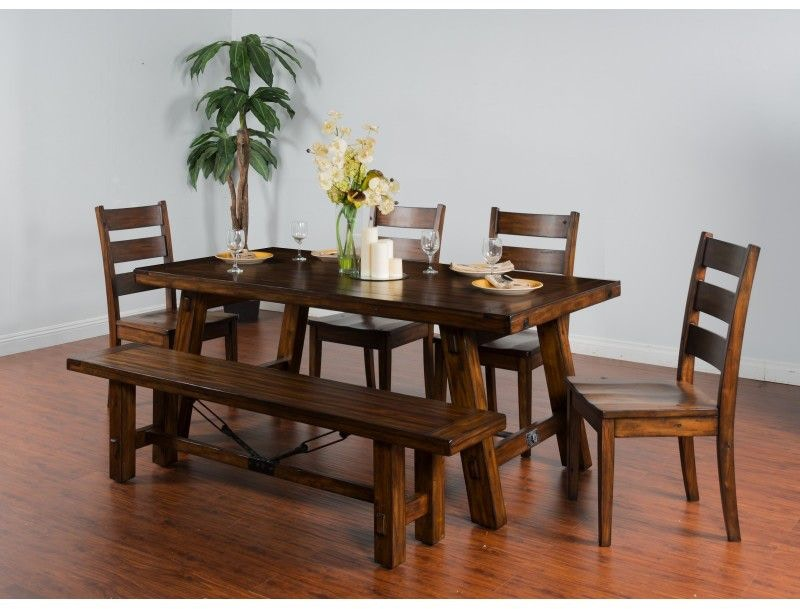 Sunny Designs Dining Room Tuscany Extension Table 1380VM  : 1380vm 800x800 from www.simplydiscount.com size 1024 x 768 jpeg 70kB