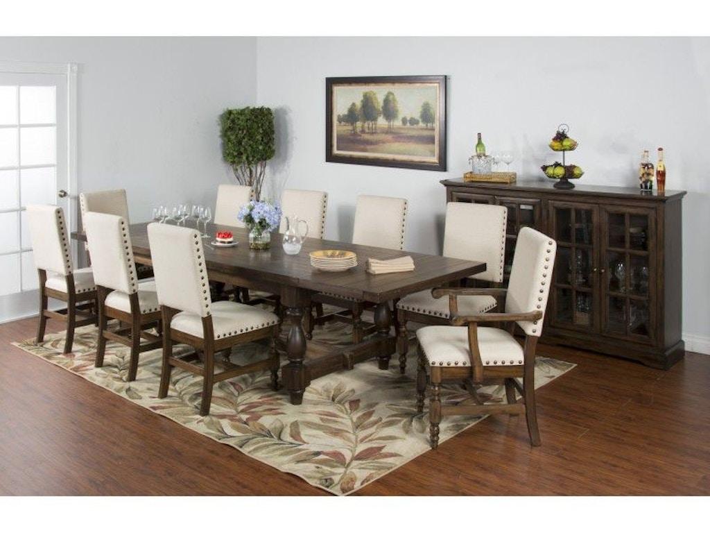 Sunny Designs Dining Room Savannah Dining Table 1383ac Seaside Furniture Toms River Brick