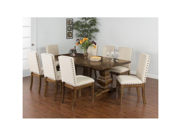 Sunny designs dining room extension dining table 1396bm for Dining room extension ideas