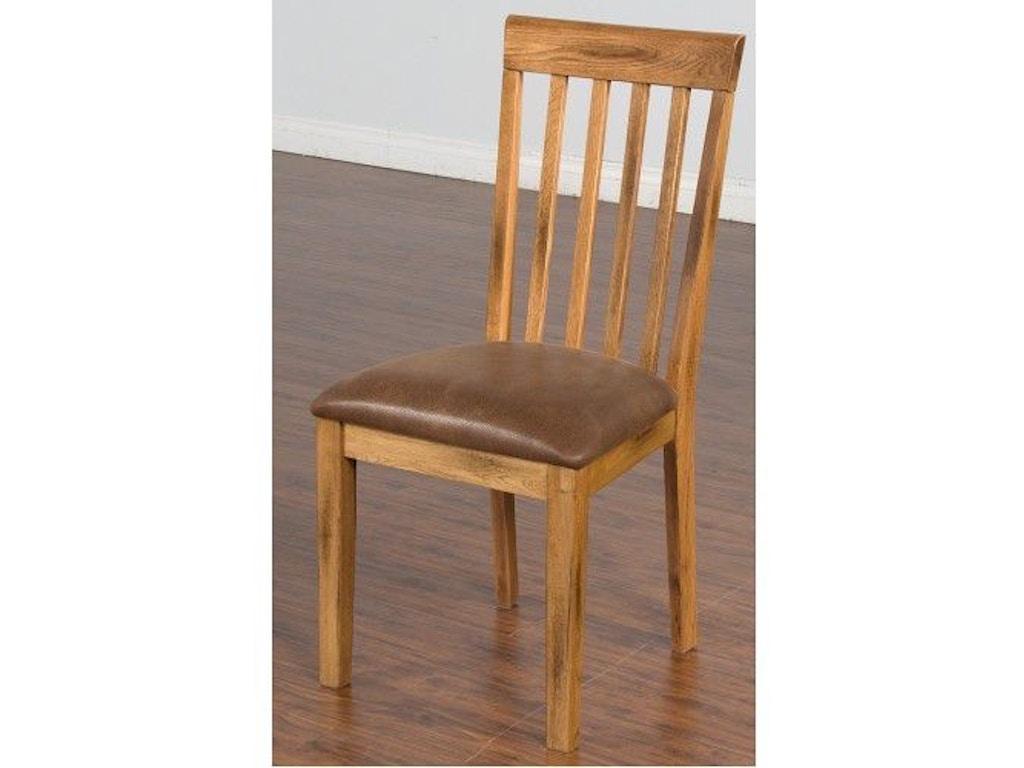 Sunny Designs Dining Room Sedona Slatback Chair With