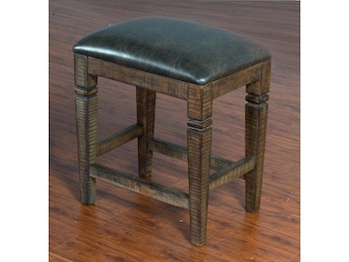 "Sunny Designs Homestead 24"" Backless Stool 1430TL-24"