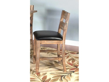 Puebla 24 inches Ladderback Barstool