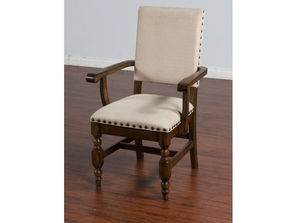 Sunny Designs Dining Room Savannah Arm Chair 1516ac A Seaside Furniture Toms River Brick