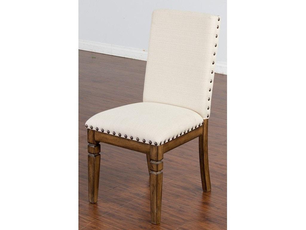Sunny Designs Dining Room Cornerstone Side Chair 1525bm Seaside Furniture Toms River Brick