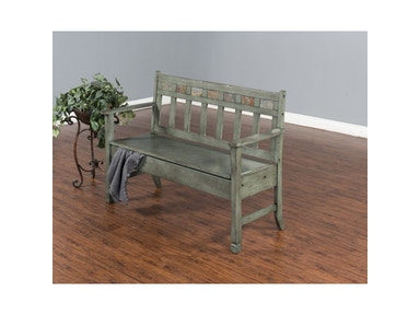 Sunny Designs Green Bench 1594GN