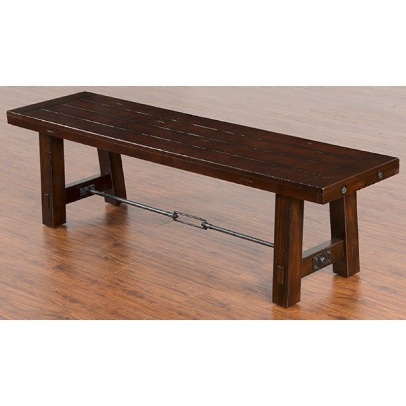 Sunny Designs Dining Room Bench 1615RM   Tip Top Furniture   Freehold, NY