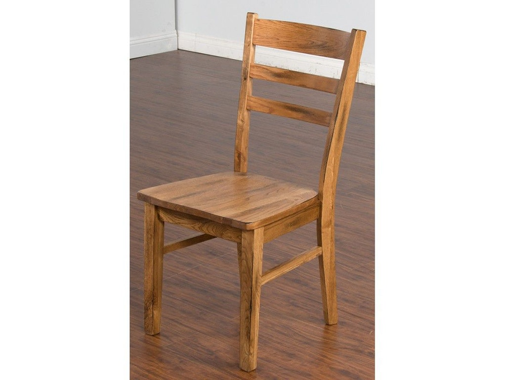 Sunny Designs Dining Room Sedona Ladderback Chair 1616ro Seaside Furniture Toms River Brick