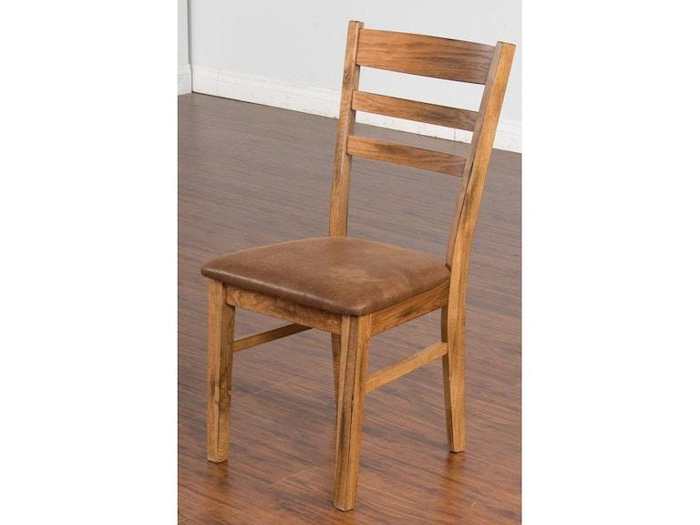 Sunny Designs Dining Room Sedona Ladderback Chair 1616ro Ct Simply Discount Furniture Santa