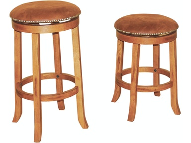 "Sunny Designs Sedona Swivel Backless 24"" Barstool 1782RO"