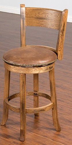 Sunny Designs Bar And Game Room Sedona Swivel 24 Quot Barstool