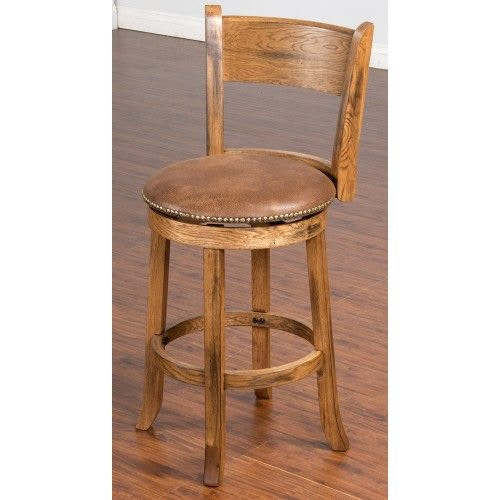 Sunny Designs Bar and Game Room Sedona Swivel Stool 1882RO  : 1882ro from www.evans-furniture.net size 500 x 500 jpeg 24kB