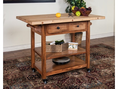 Sedona Butcher Block Table