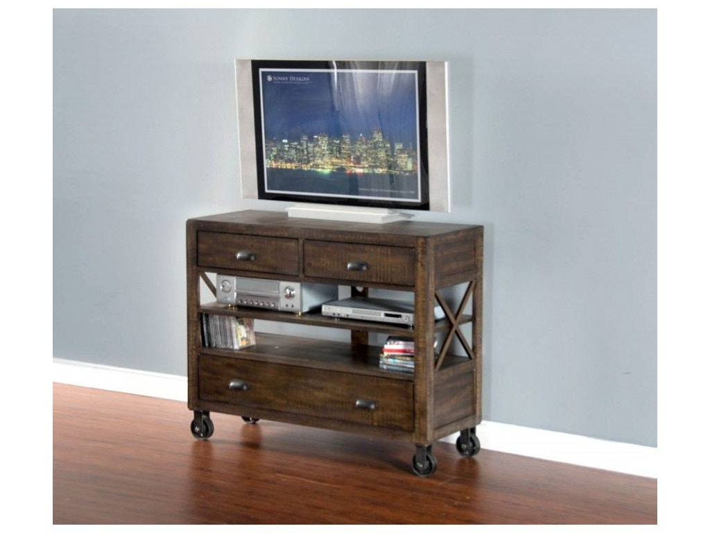 Sunny Designs Bedroom Lincoln Park Media Chest 2310tl Mc Valley Furniture Company Havre Mt