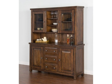 Tuscany Hutch and Buffet