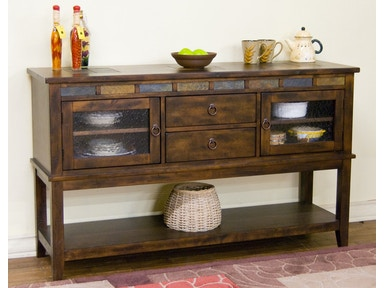 Santa Fe Server With 2 Drawers