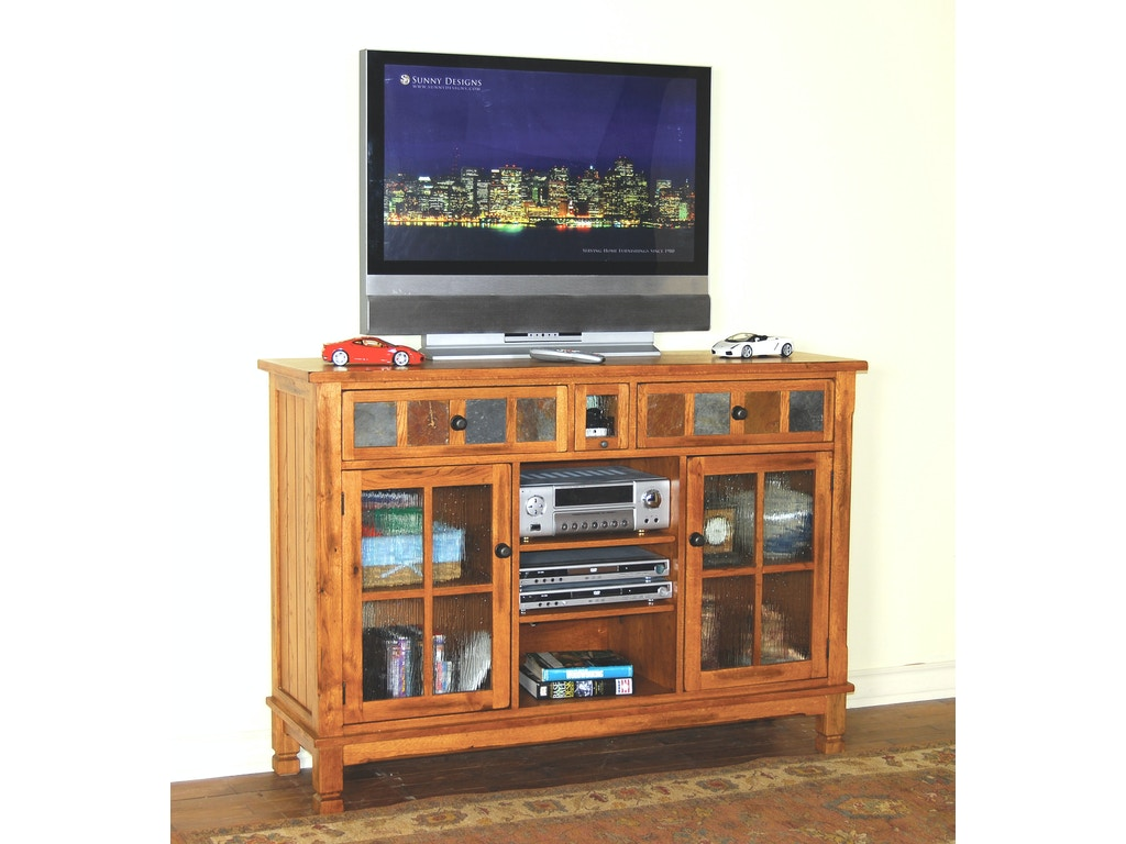 Sunny Designs Home Entertainment Sedona 42 H Tv Ipod Console 2799ro Evans Furniture Galleries