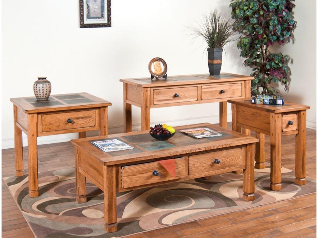 Sunny Designs Living Room Sedona Occasional Tables 3143ro Simply Discount Furniture Santa