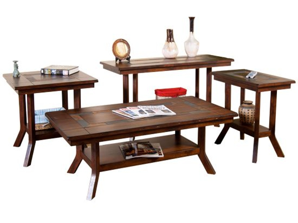 Sunny Designs Living Room Santa Fe Coffee Table 3175dc C Seaside Furniture Toms River Brick
