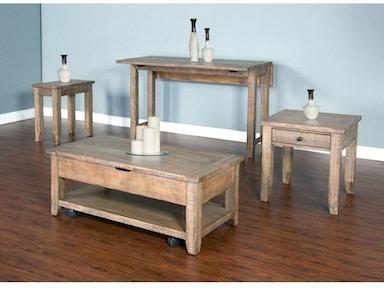 Sunny Designs Living Room Driftwood Sofa Table