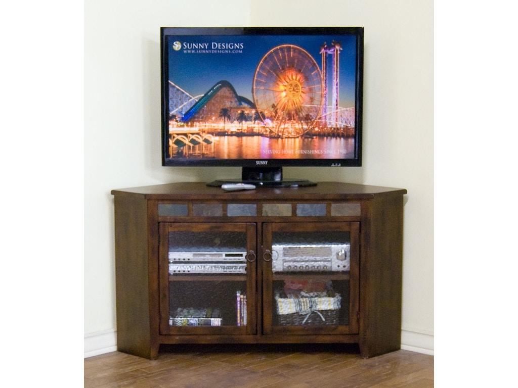 Sunny Designs Home Entertainment Santa Fe Corner TV