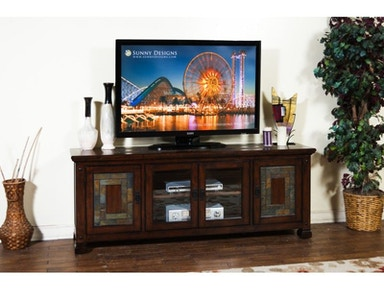 "Dark Hazelnut 75"" TV Console"